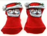 Christmas Baby Santa Claus Sock / Shoes