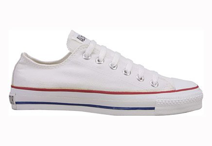 Converse Chuck Taylor All Star Lo Top Optical White Canvas Shoes