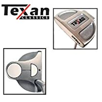 Texan Classics LEFTY White Ball Putter 35""