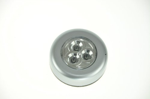 Domire 4Pcs Stick N Click Led Bright Lights - Click Push On Off Light For Kitchen Cupboard Garage
