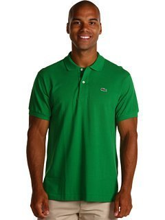 Lacoste Origional Fit Short Sleeve Classic Pique Polo (2XL, Green)