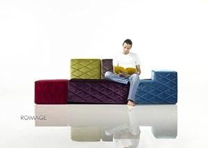 Canapé lounge design modulable tetrominos - arrivage