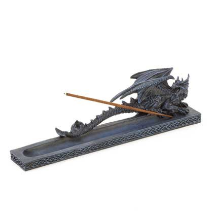Gothic Dragon Incense Burner Figurine