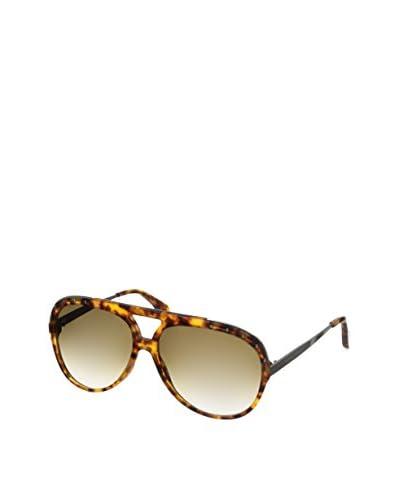 Alexander McQueen Women's AMQ4240/S Havana/Brown Gradient Sunglasses
