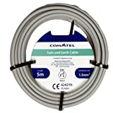 Twin and Earth Cable Electrical Commtel Twin and Earth Cable 5 Meter 1.5mm