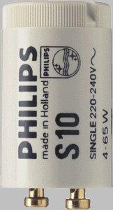 philips starter s10 4 65w f r leuchtstoffr hren z b f r tl. Black Bedroom Furniture Sets. Home Design Ideas