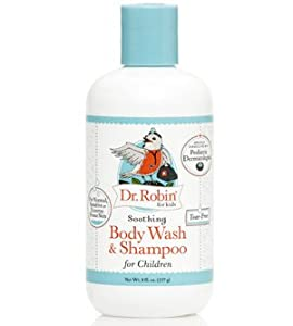 Soothing Body Wash & Shampoo Dr Robin 8 fl oz Liquid