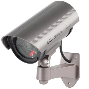 Flashing LED Fake Dummy Outdoor Camera Cam 30 with Infrared IR Professional Design Cctv MWS