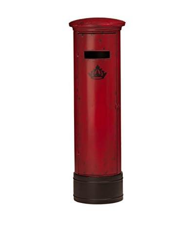 Premier Housewares  Caja de Almacenamiento 2403580 Rojo