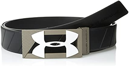 2015 Under Armour Adjustable Silicon Mens Golf Belt Black