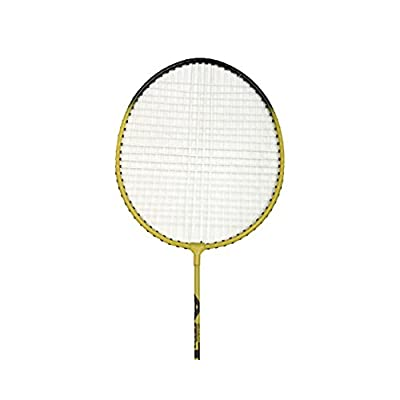 Tennex Badminton Set T222 - Iron Body With Full Transparant Cover - Yellow