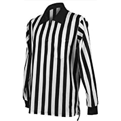 PT Referee Official Moisture Wick 1 4 Zip Pocketed Long Sleeve Jersey by PT