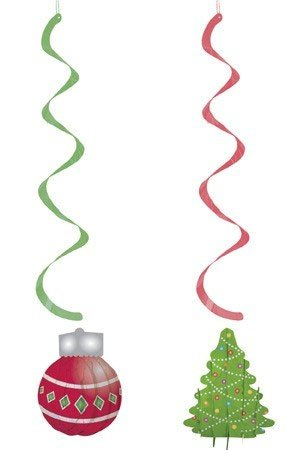 Sliceform Christmas Dizzy Danglers