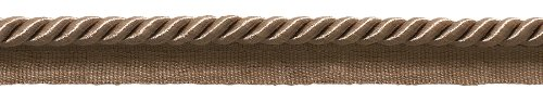 "For Sale! 10 Yard Value Pack of Medium 5/16"" Basic Trim Lip Cord (Dark Sand), Style# 0516S Colo..."