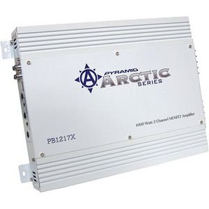 Pyramid Pb1217X 1600-Watt 2-Channel Mosfet Arctic Series Amplifier