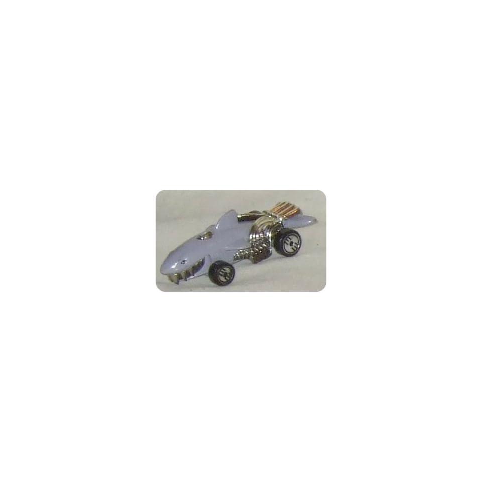 Mattel HotWheels Grey Shark Diecast Collectible Car 1986