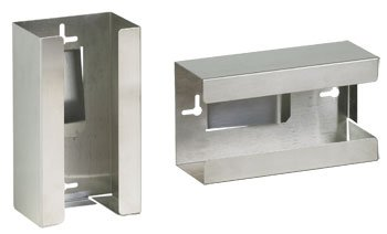 CLINTON STAINLESS STEEL GLOVE BOX HOLDERS Single Item# GS-3000