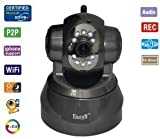 EasyN FS-613B-M166 Wireless Pan/Tilt IP Camera with 2-Way Audio