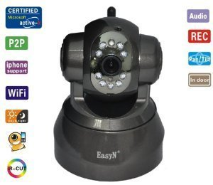 Fantastic Deal! EasyN FS-613B-M166 Wireless Pan/Tilt IP Camera with 2-Way Audio