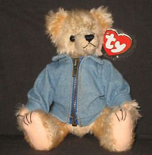 TY Attic Treasure - LOGAN the Bear (Canada Exclusive - Flag on Back)