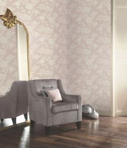 Arthouse Jacobean Wallpaper - Lilac from New A-Brend