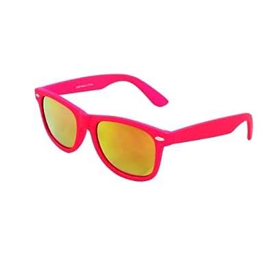 Lunettes de soleil Wayfarer MLC 350RPK couleur rose et verres miroir
