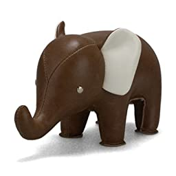 Zuny Classic Series Elephant Brown Animal Paperweight
