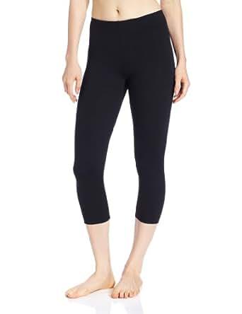 Capezio Women's Capezio Women'S Supplex® Capri Legging,Black,XS (2-4)