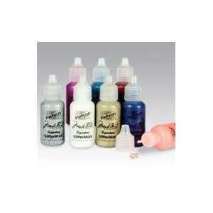 GlitterMark Silver Glitter Gel for Face Painting, Dress Up or Henna