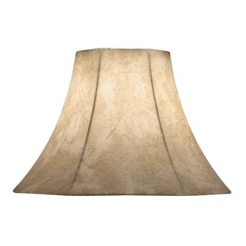 Medium Faux-Leather Lampshade from Destination Lighting