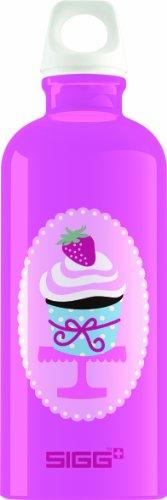 Sigg Fresa Water Bottle, Pink, 0.6-Liter front-541545