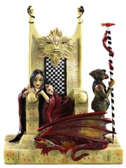 Amy Brown Signature Series Statue Red Queen AB030
