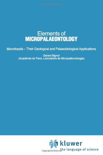Elements Of Micropalaeontology