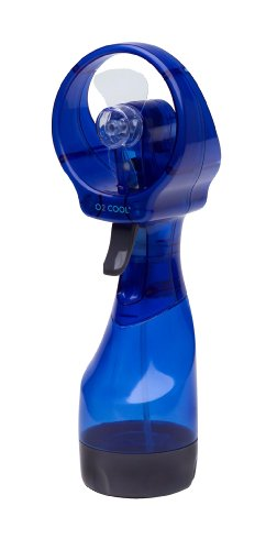 Great Deal! O2cool 8101 Deluxe Battery-operated Handheld Water-misting Fan- Colors May Vary