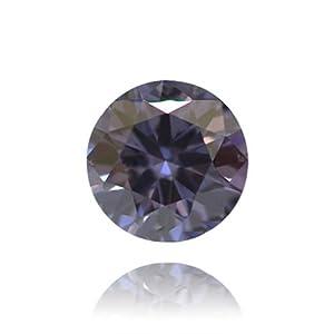 Fancy Deep Blue Argyle Color Round Natural Loose Diamonds 0.17cts Carat GIA VS1