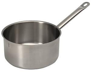 Sitram Profiserie 5.4-quart Commercial Stainless Steel Saucepan