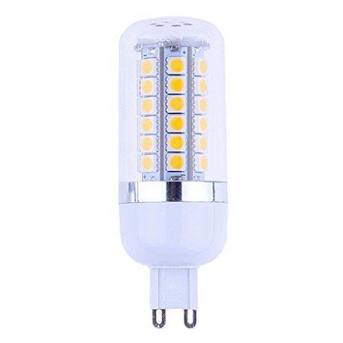 How Nice 6W Led Corn Bulb G9 Bulb Base Corn Lamp 48X 5050 Smd Leds 3000K Warm White Light New Style (110V)