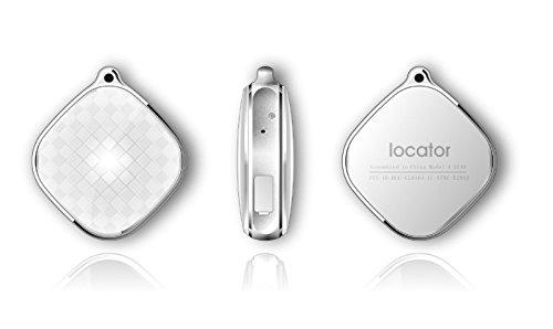 Orizin GPS Tracking Locket (White Color) to Track pets, child, senior citizen, ladies, women through mobile app(IOS/Android)