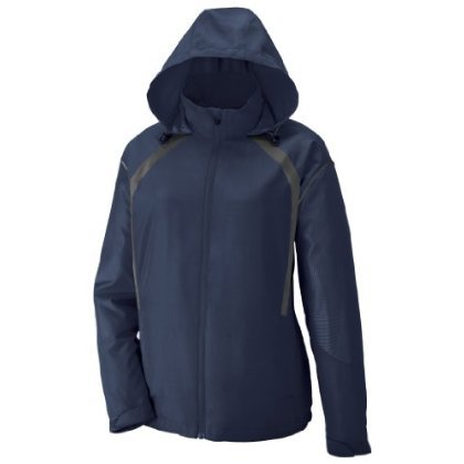 Sirius Ladies' Lightweight Jacket With Embossed Print, XS, * Night W / Black ...