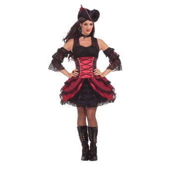 Rogue Pirate Adult Costume Size Standard