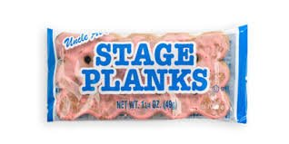 Uncle Al's Original Stage Plank Cookies, 2 Boxes of 12 Packs Each (24 packs total)