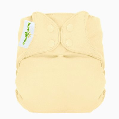 Freetime (Snap) Aio Diaper With Stay Dry Liner - Noodle