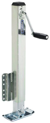 Fulton Hd25000101 Bolt-On Trailer Tongue Jack With Drop Leg - 2500 Lb. Weight Capacity front-62696