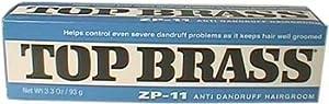 Top Brass by Revlon, ZP-11 Anti-Dandruff Hairgroom, 3.3 oz