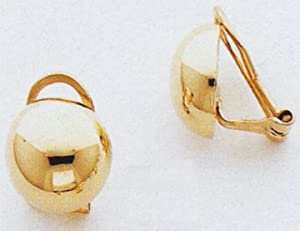 Non-Pierced Clip-on Earrings - H629