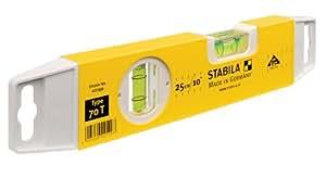 Stabila - 70 TM - 02199 - Niveau à bulle - 25 cm (Import Allemagne)