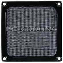 Cooltek - Filtre pour Ventilateur - 140 mm - Aluminium - Noir