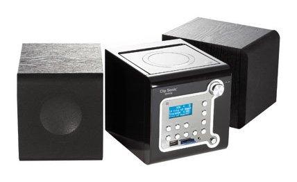 Clip Sonic - CH1016 - Chaîne hifi CD/mp3 - Port USB