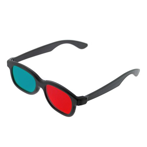 GTMax 3D Red/Cyan Glasses - Basic Square for