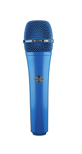 Telefunken M80 | Solid Color Finish Dynamic Series Cardioid Microphone (Blue)